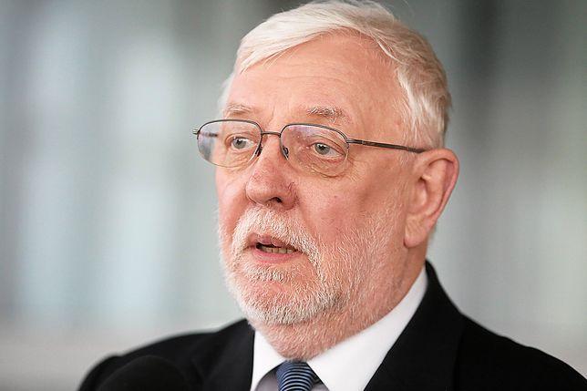 Jerzy Stępień skomentował odpowiedzi kandydatów na sędziów podczas posiedzenia KRS