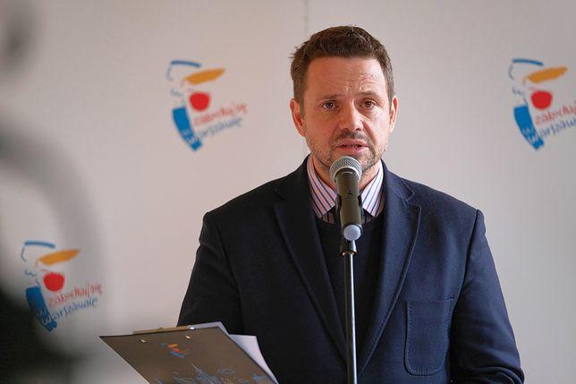 Rafał Trzaskowski jest przeziębiony i musi pozostać w domu