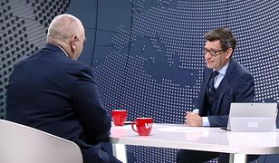 Dziennikarz zapytał Sasina o Jaruzelską. W studiu zapadła cisza