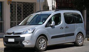 Skradziony samochód był przystosowany do przewożenia osób niepełnosprawnych