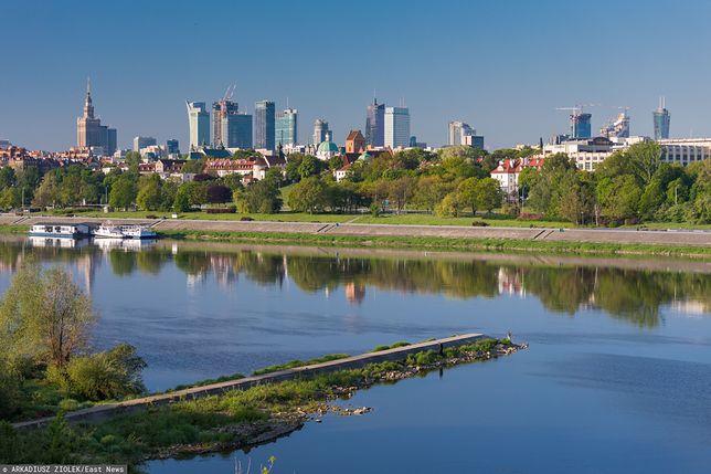Pogoda. Warszawa. Środa, 15 lipca. Słońce i przelotne opady