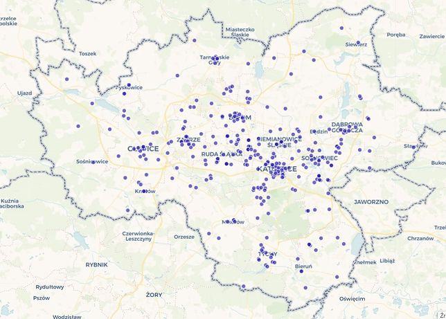 Śląsk. Wykaz punktów szczepień umieszczono na interaktywnej mapie na portalu InfoGZM.