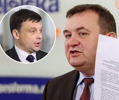 Gawłowski ostro o dymisji jednego z ministrów. W tle ojciec Tadeusz Rydzyk