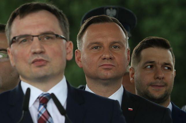 Zbigniew Ziobro, Andrzej Duda i Patryk Jaki