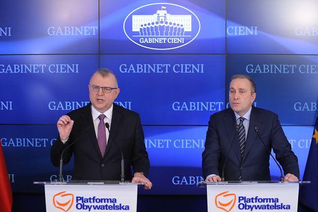 Grzegorz Schetynę decyzję ogłosił we wtorek