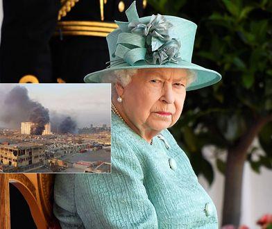 Królowa Elżbieta II poruszona tragedią Libańczyków. Brytyjska królowa złożyła kondolencję prezydentowi tego kraju