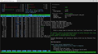 Windows Subsystem For Linux (WSL2) - Test Wydajności
