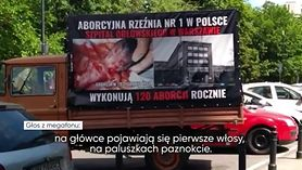 Protesty środowisk pro-life przed warszawskimi szpitalami (WIDEO)