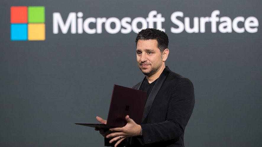 Panos Panay będzie w większym stopniu odpowiedzialny za Windows, fot. Getty Images