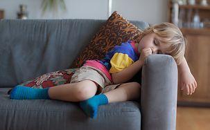 Dzieci potrafią zasnąć dosłownie wszędzie