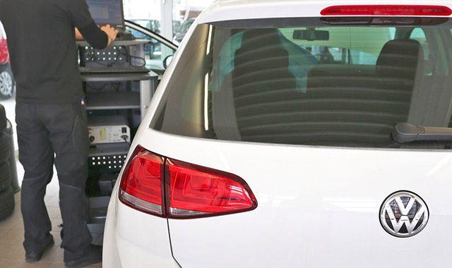 Amerykanie rozbierają swoje Volkswageny przed zwrotem