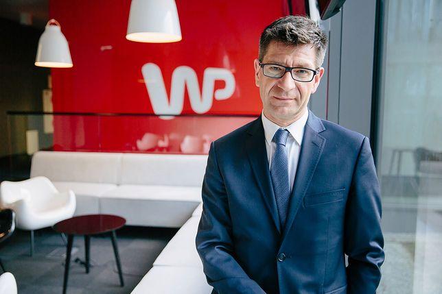 """""""Tłit"""". Jacek Wojciechowicz gościem programu WP"""