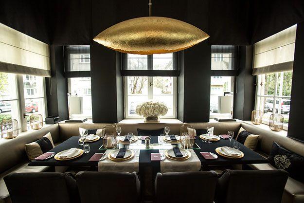 Restauracja Amber Room w Pałacu Sobańskich