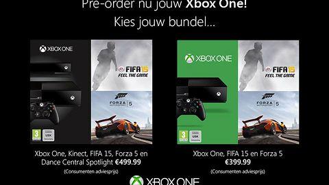 FIFA 15 i Forza Motorsport 5 w zestawach z Xbox One we wrześniu?