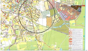 Strefa zagrożenia w Żarach