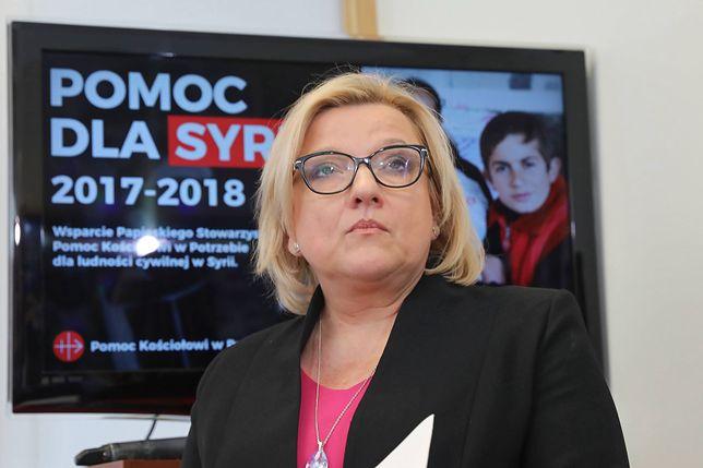 Beata Kempa ostro o słowach Rafała Trzaskowskiego