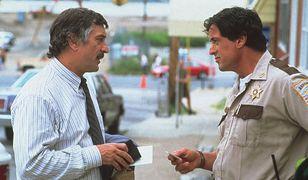 "Robert DeNiro i Sylvester Stallone w filmie ""Cop Land"""