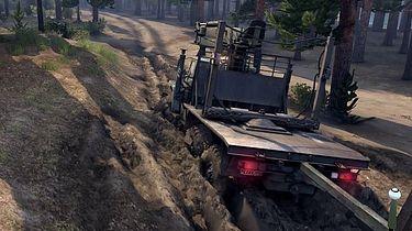 Co ja gram: Spintires - wielkie ciężarówki w głębokim błocie