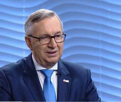 """Stanisław Szwed (na zdjęciu) potwierdza, że do emerytów trafi """"czternastka""""."""
