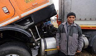 Fardin Kazemi wróci do Iranu z nową ciężarówką.