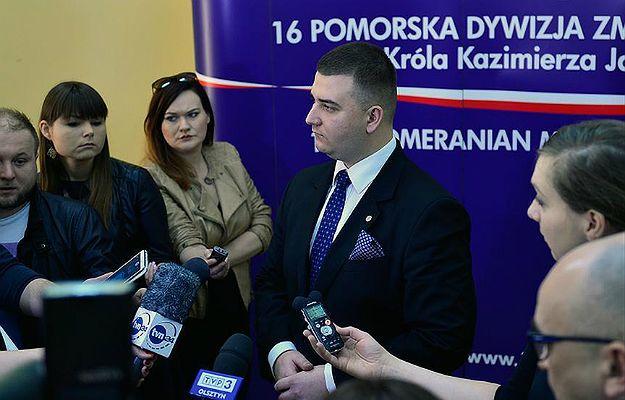 Rzecznik MON w Elblągu w dn. 11 kwietnia 2016 r.