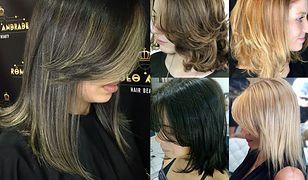 Istnieje wiele wariacji na temat cieniowanych włosów