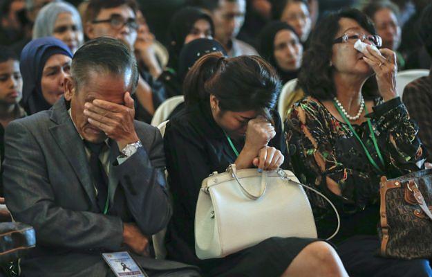 Rodziny ofiar katastrofy malezyjskiego Boeinga 777