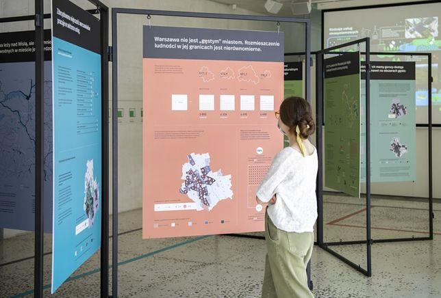 Warszawa. Wystawa prezentuje rzeczowe opracowania dotyczące stolicy przyszłości, ale też niezwykłe, często odważne wizje urbanistów, architektów i mieszkańców