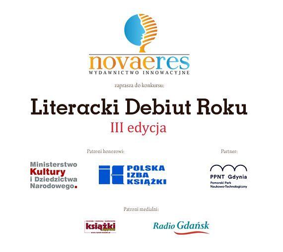 """""""Literacki Debiut Roku"""" - wręczenie nagród już w sobotę!"""