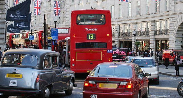 Za wjazd do centrum Londynu trzeba zapłacić 11,5 funta