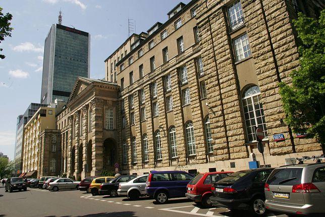 Warszawa. Gmach przedwojennego Państwowego Banku Rolnego