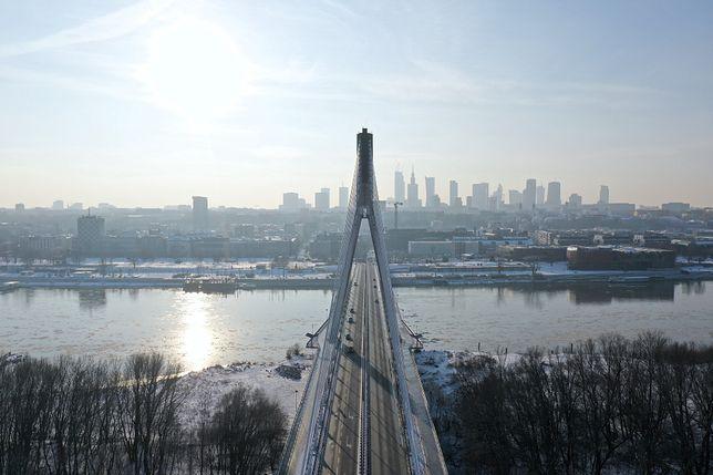 Warszawa cała na biało. Prawdziwa zima zawitała do stolicy [ZDJĘCIA]