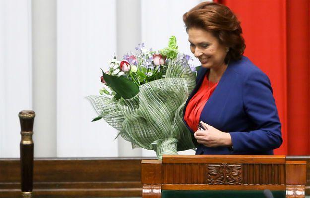 Małgorzata Kidawa-Błońska została wybrana na marszałka Sejmu