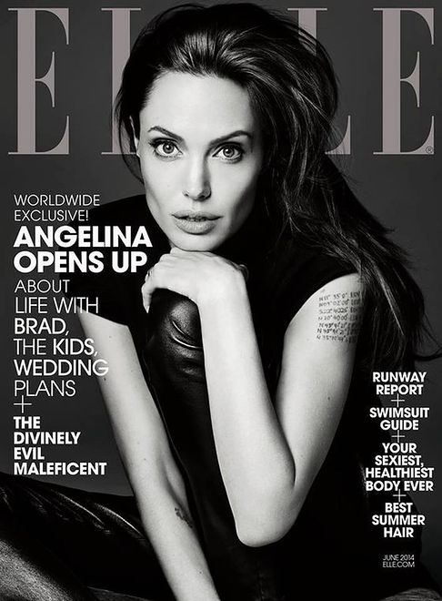 Angelina Jolie o spełnionej bajce