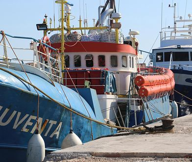 Włosi zablokowali niemiecki statek na Lampedusie. Niemiecka organizacja zajmuje się pomaganiem uchodźcom