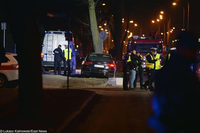 Miejsce wypadku rządowego auta, którym jechała Beata Szydło