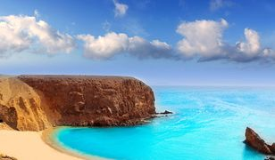 Lanzarote w Hiszpanii to nie tylko księżycowy krajobraz, ale również boskie plaże