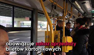 Warszawski ZTM zlikwidował sprzedaż biletów u kierowcy. Co o zmianie mówią mieszkańcy stolicy?