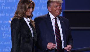 Melania Trump podczas debaty prezydenckiej. Jej mowa ciała wiele zdradza