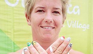 Szczęśliwe paznokcie Anity Włodarczyk