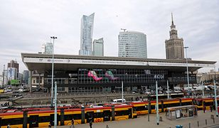 Napad na kantor wymiany walut na Dworcu Centralnym w Warszawie