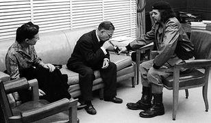 Simone de Beauvoir, Jean-Paul Sartre i Ernesto Che Guevara. Spotkanie na Kubie w 1960 r.