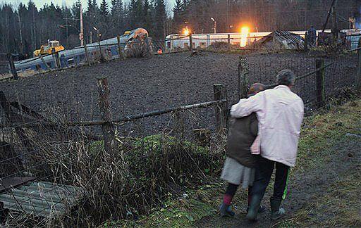 """Drugi wybuch na miejscu wypadku """"Newskiego Ekspressu"""""""