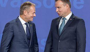 Donald Tusk i Andrzej Duda pokazali nieco luzu. Kraj w szoku.