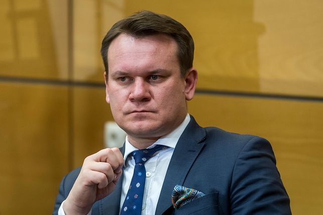 Dominik Tarczyński dał się nabrać