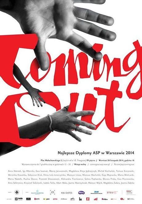 Coming Out. Najlepsze dyplomy ASP w Warszawie 2014