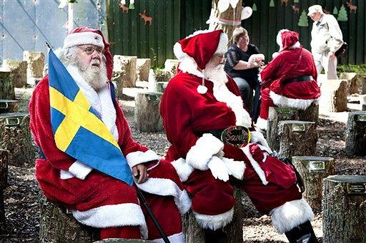 Co Święty Mikołaj robi latem? - zdjęcia
