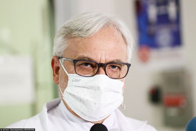 Szpital w Olsztynie odniósł się do doniesień wokół prof. Maksymowicza