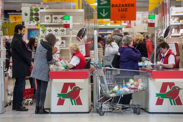 Zakupy w Auchan - wciąż najtańszej sieci handlowej w Polsce