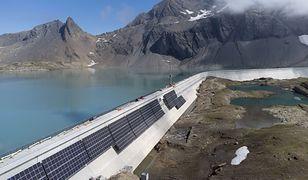 Największa elektrownia fotowoltaiczna w Alpach powstaje na zaporze wodnej